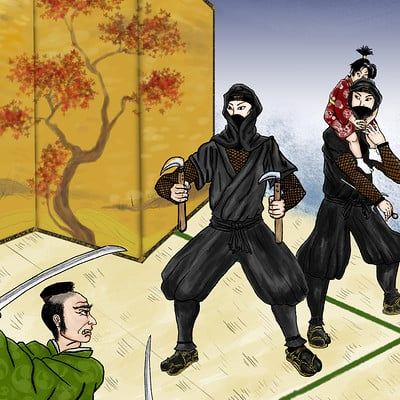 Sandy jacobs tolle ninjafinal
