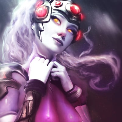 Anato finnstark meet a friend widowmaker overwatch by anatofinnstark da5bo4f