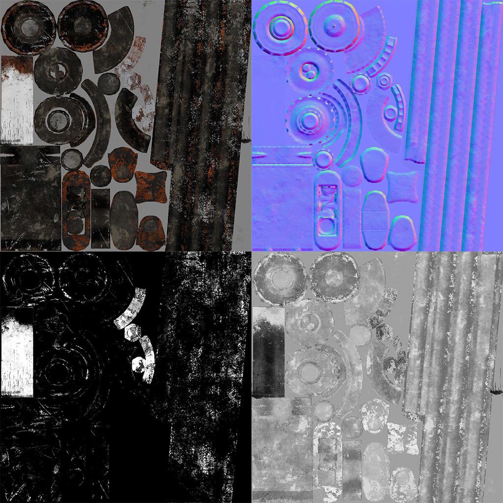 Alexandr shesternin coilover texture