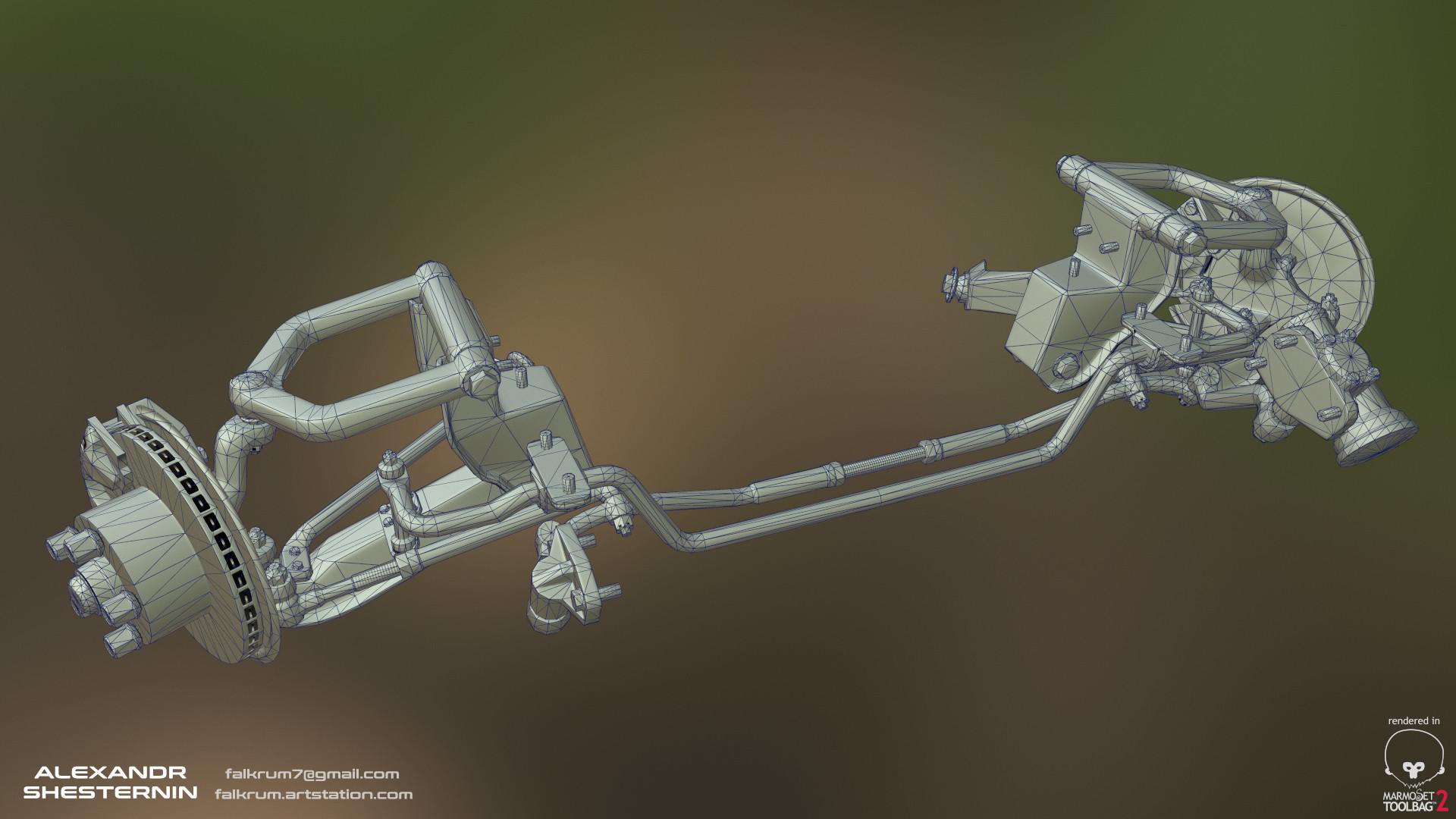 Alexandr shesternin front axle03