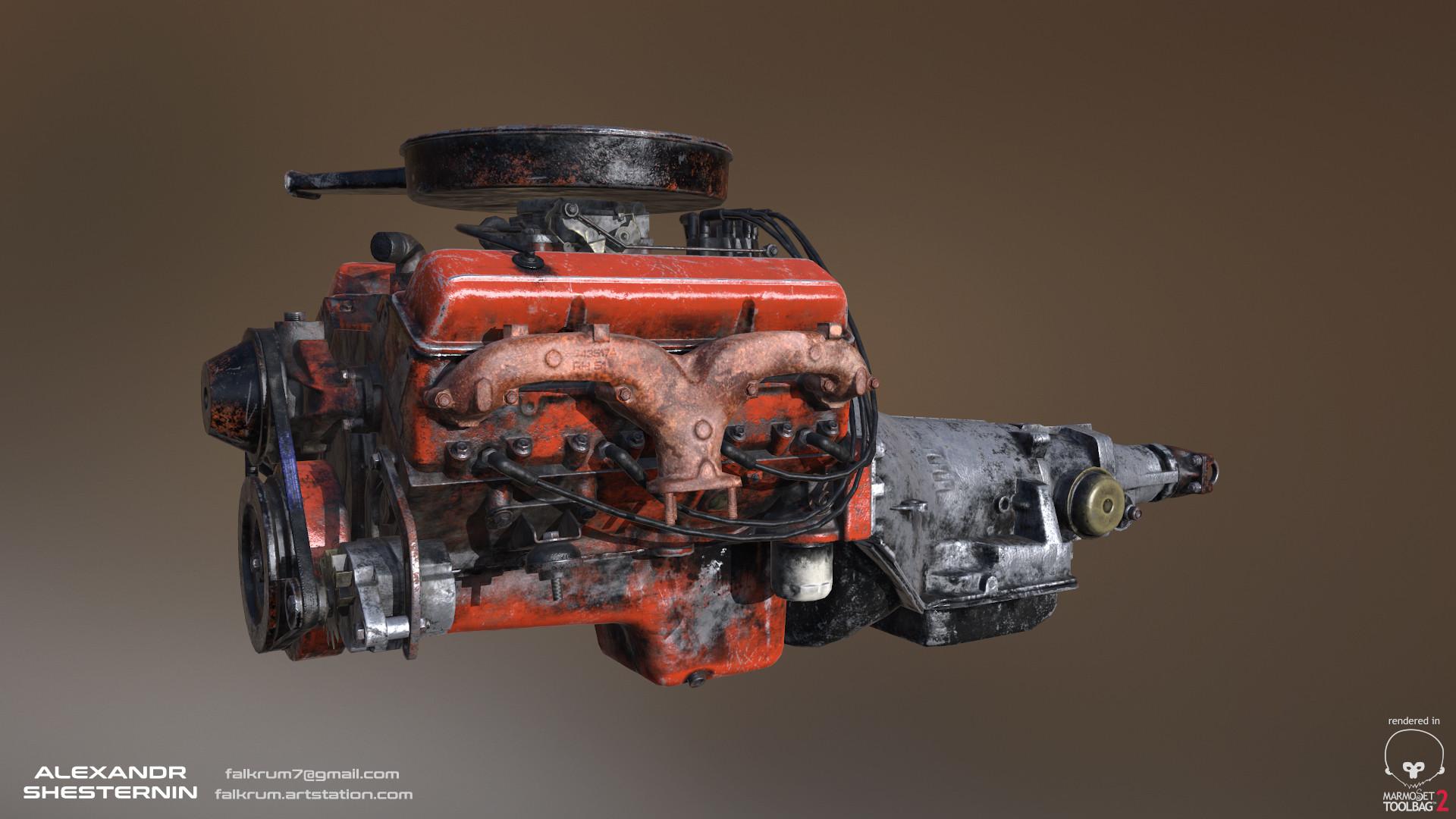 Alexandr shesternin engine01