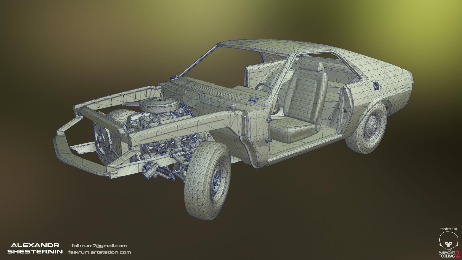 Alexandr shesternin modular abandoned car11