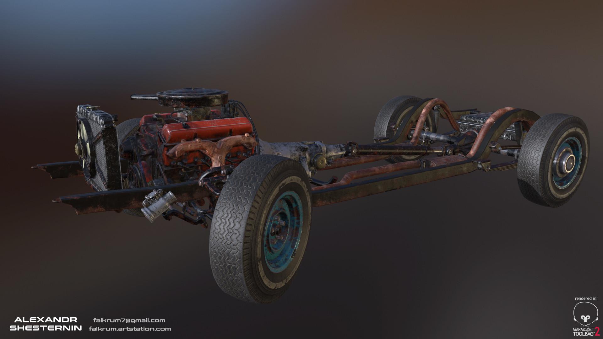Alexandr shesternin modular abandoned car08