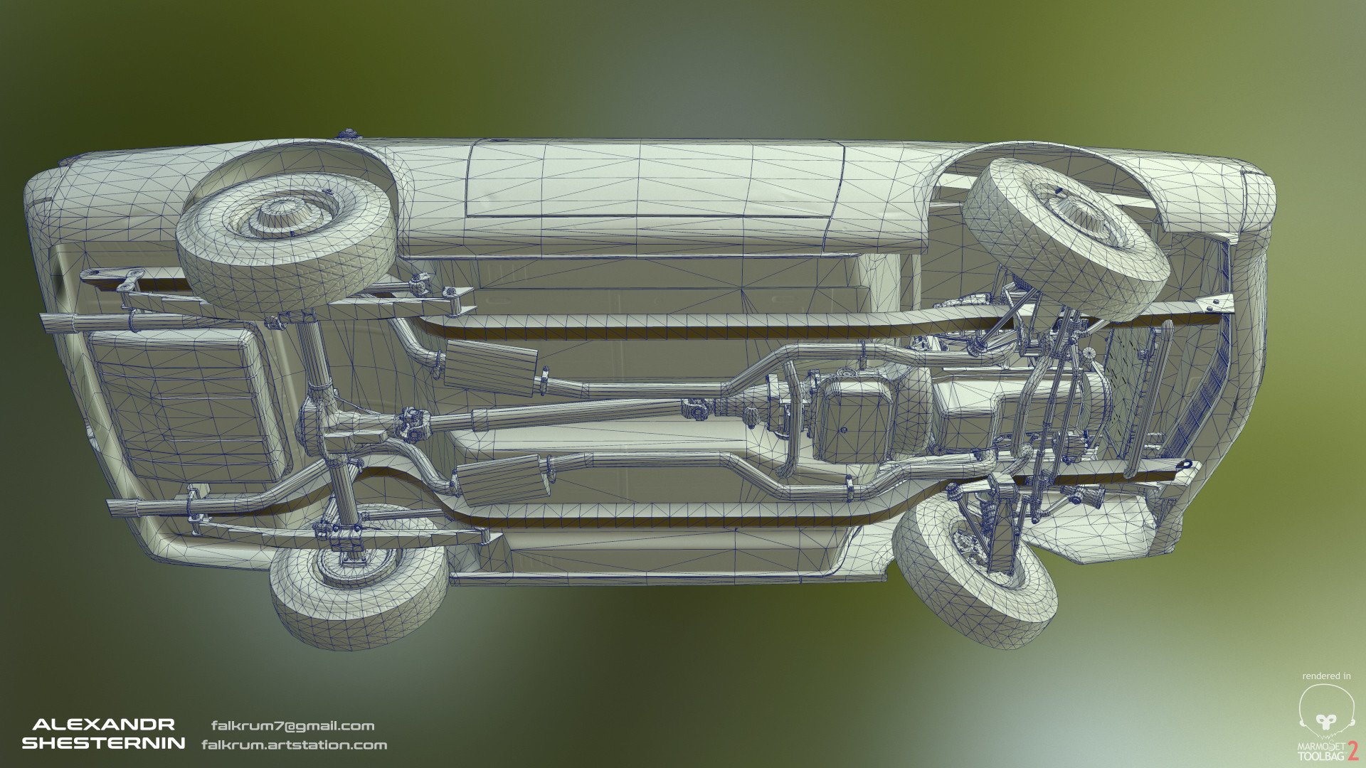 Alexandr shesternin modular abandoned car13