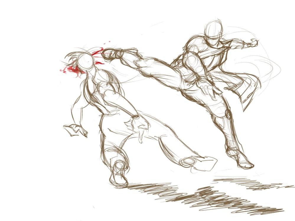 Ricardo rodrigues spin kick