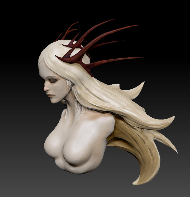 Alexandre chaudret sculpt princess 01stepb