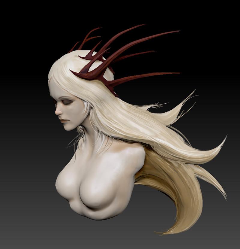 Alexandre chaudret sculpt princess 01stepc