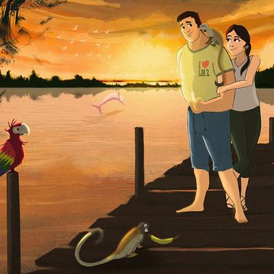 Bryan ramirez amazonas couple andres y laura