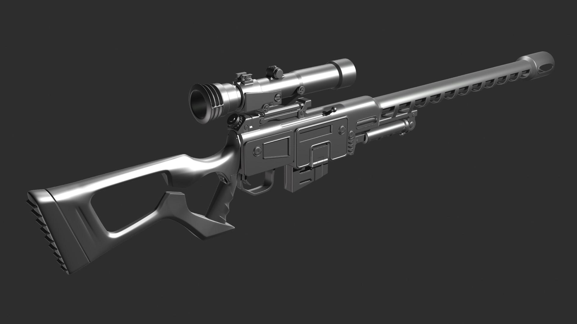 Ben bickle fo3 sniper render
