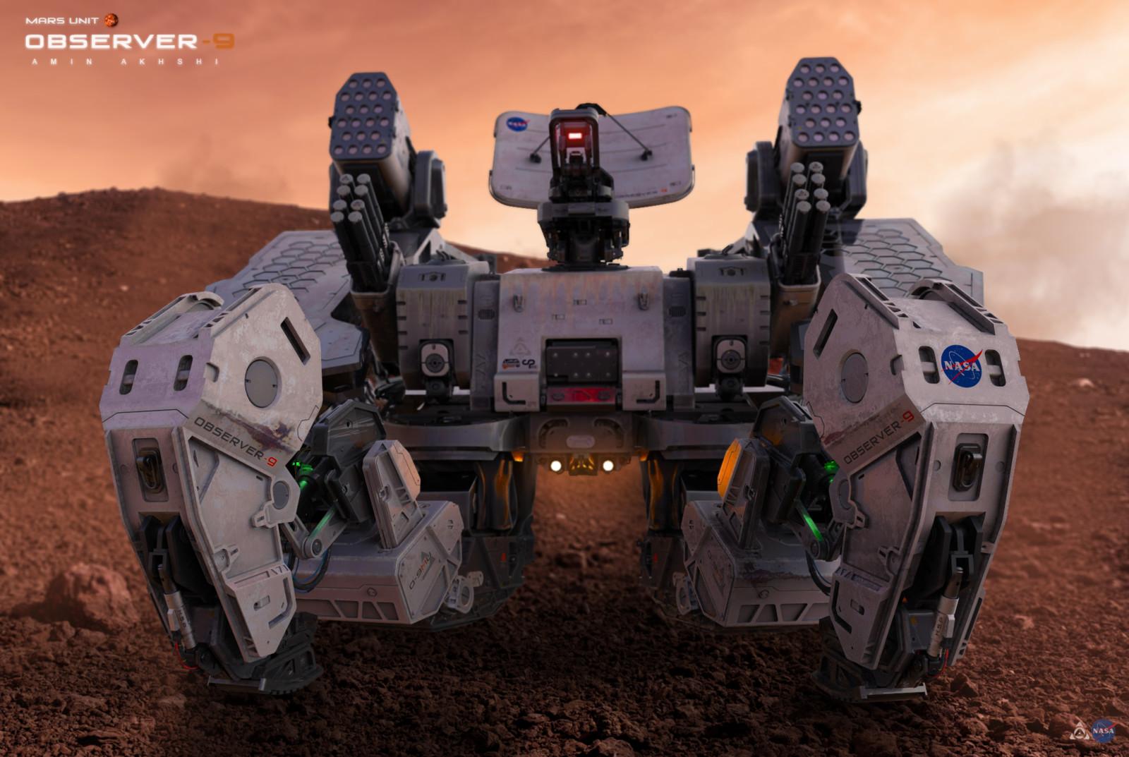 Observer 9 - Mars Unit