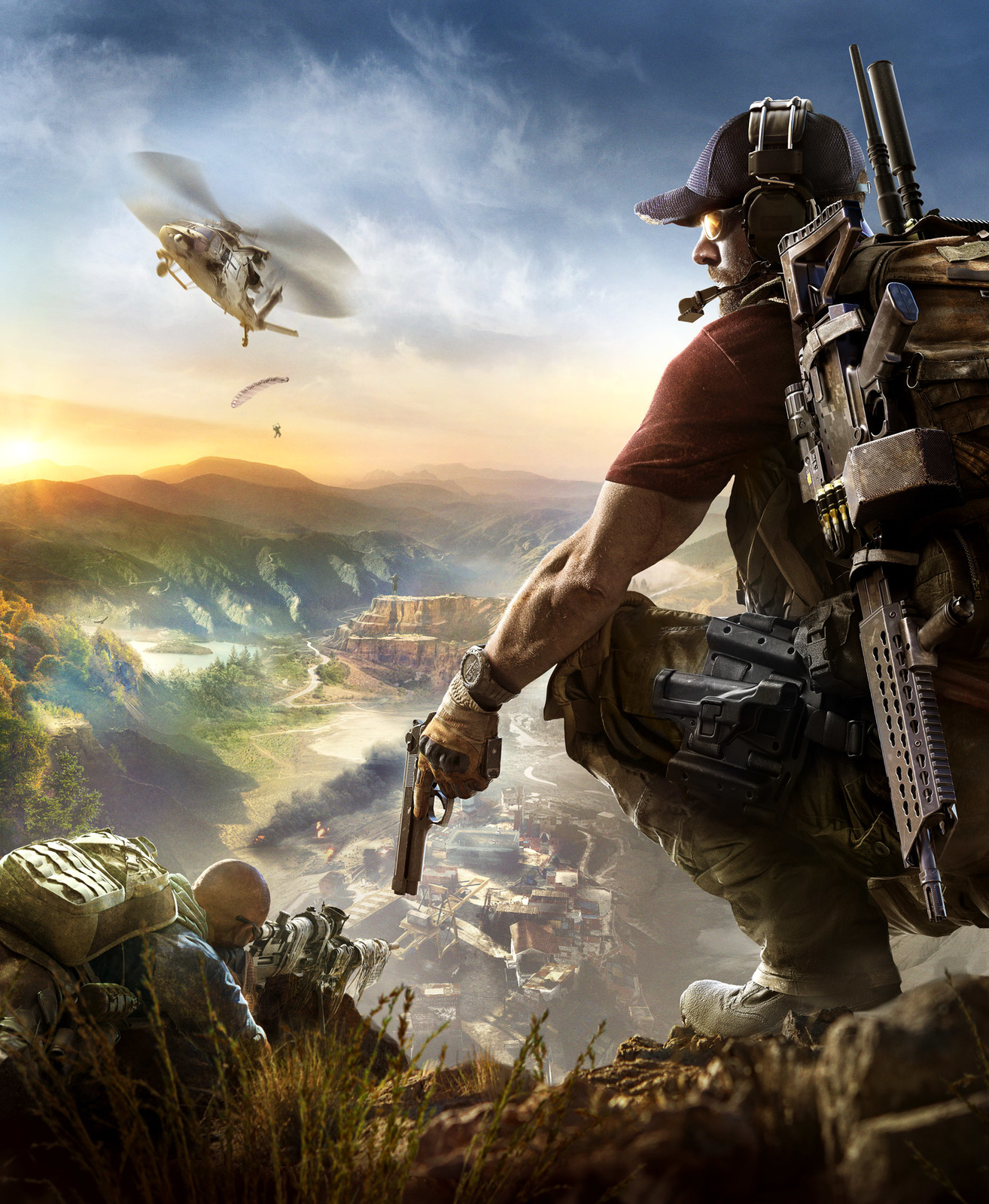 Ghost Recon Wildlands Keyart