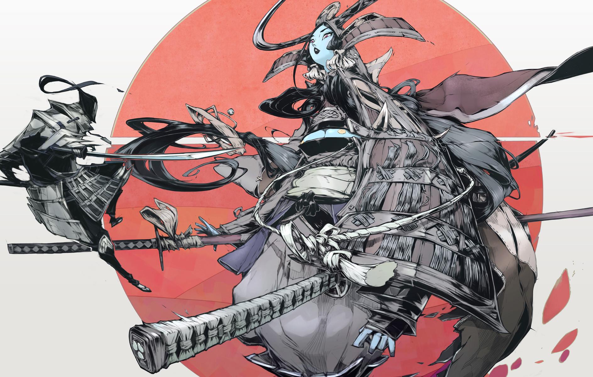 Tan zhi hui samurai fina 5