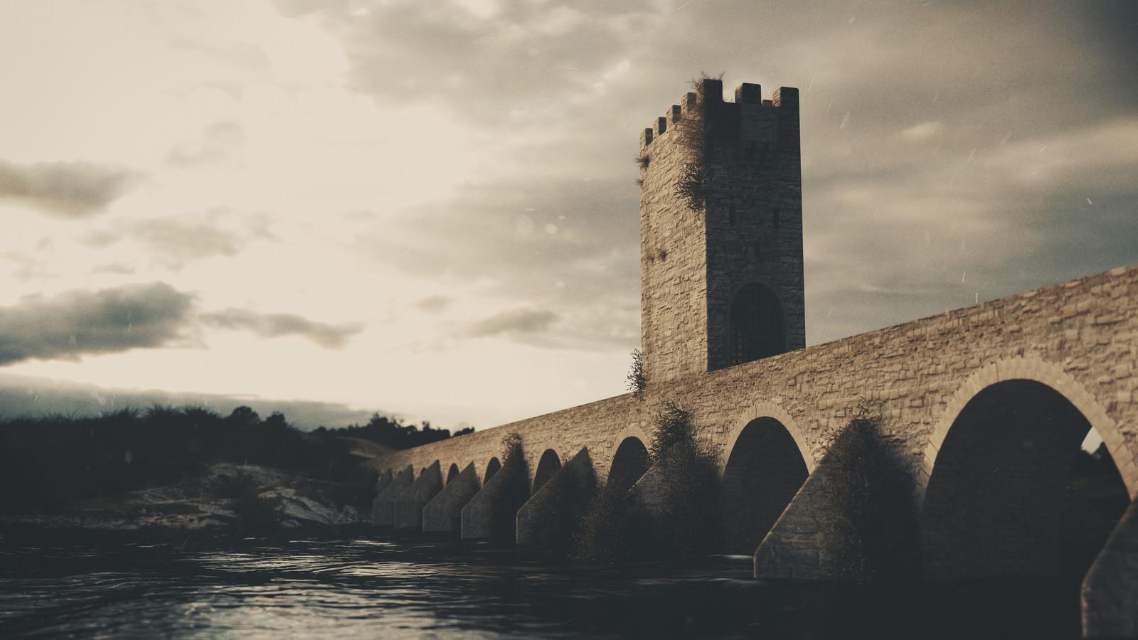 Reconstrução Virtual da Ponte de Nossa Senhora da Ajuda