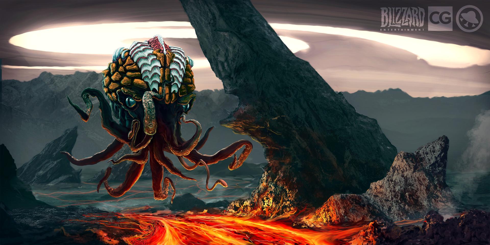 Max korablev zerg illustration