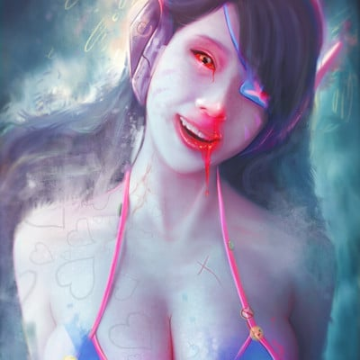 Anato finnstark never again without my mech d va overwatch by anatofinnstark da5tte5