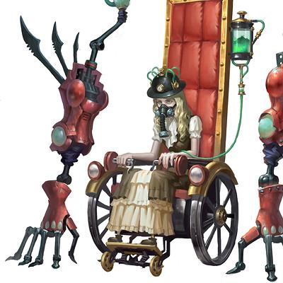 Wenfei ye wheelchair