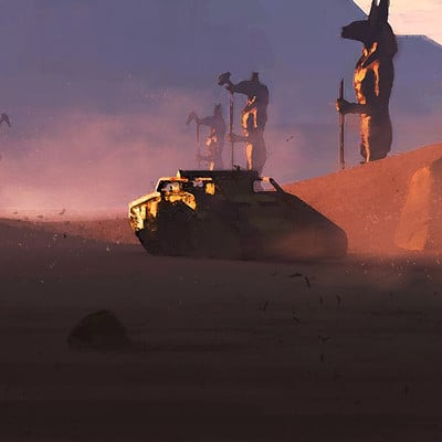 Mack sztaba in the desert