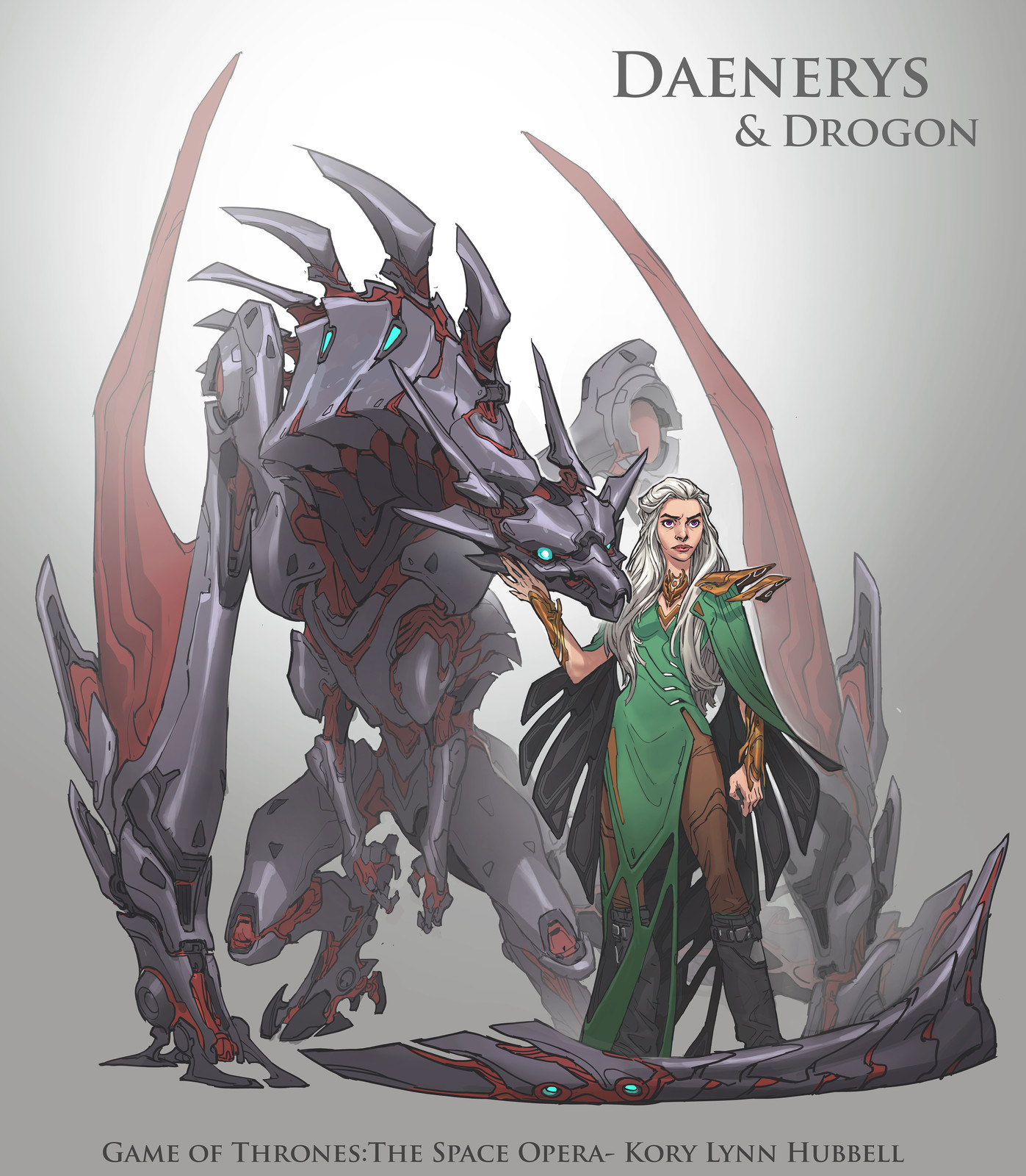 Game of Thrones, the Space Opera- Daenerys and Drogon