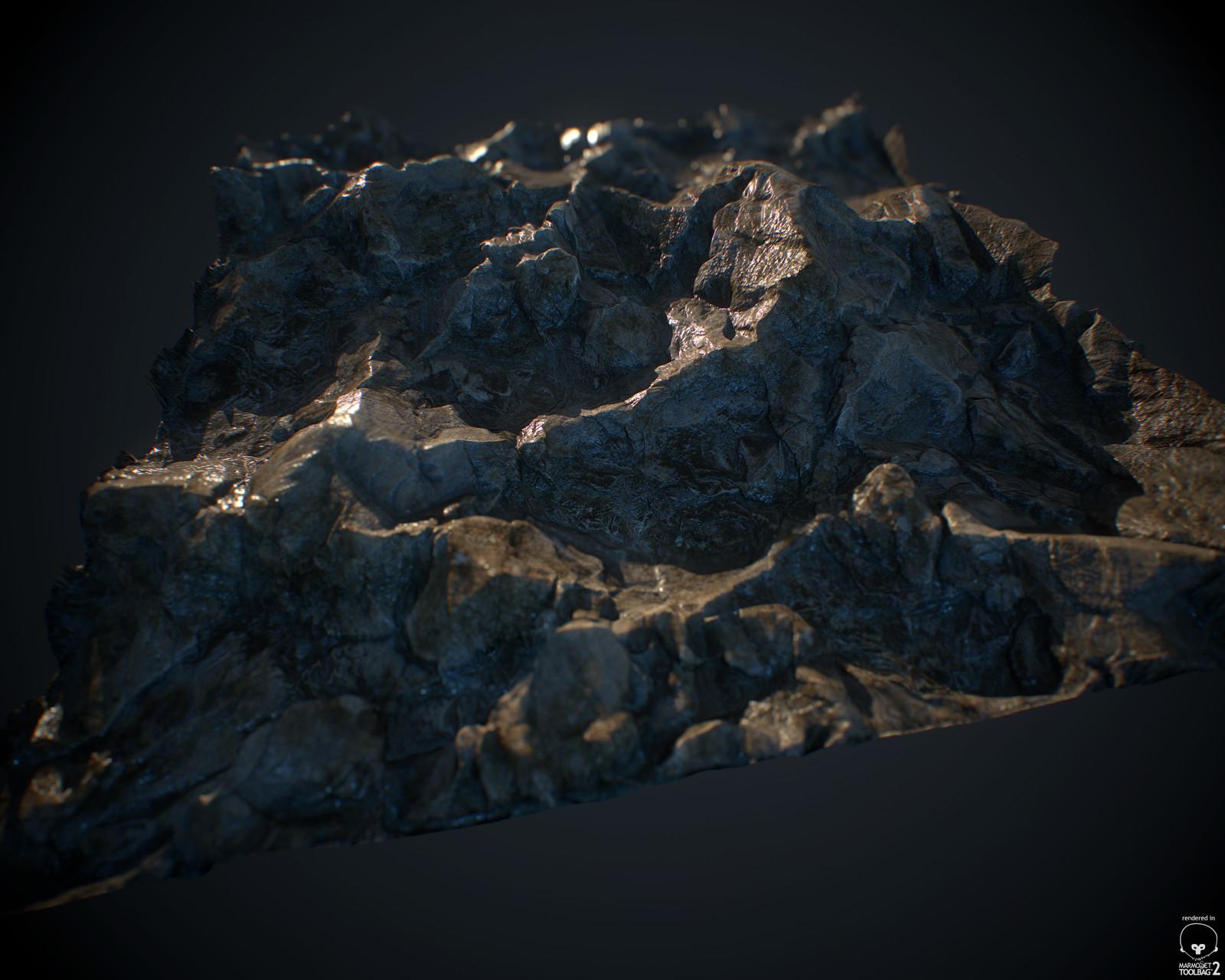 Random rocky surface - 100% Substance Designer