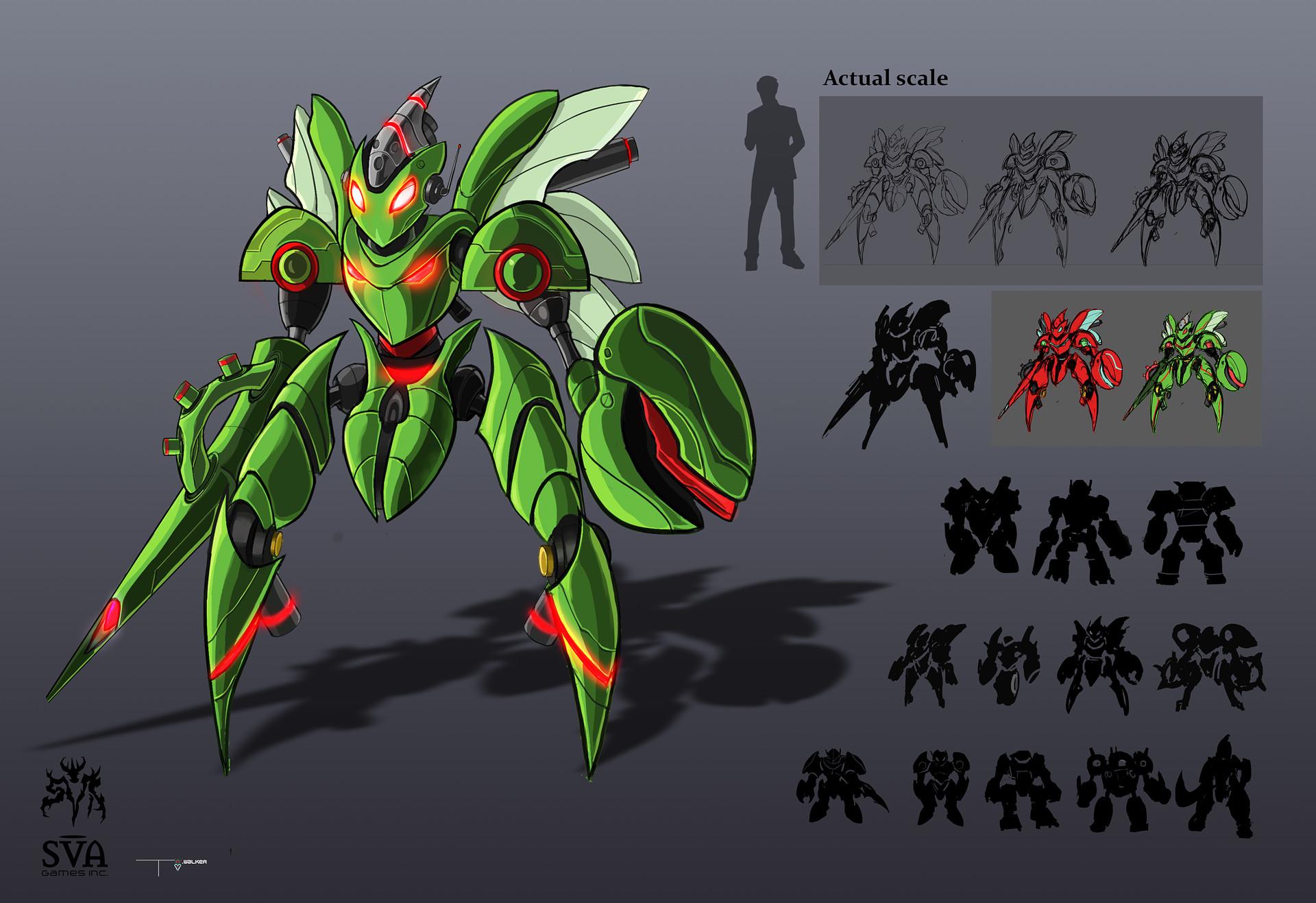 Temarius walker titan bot 02