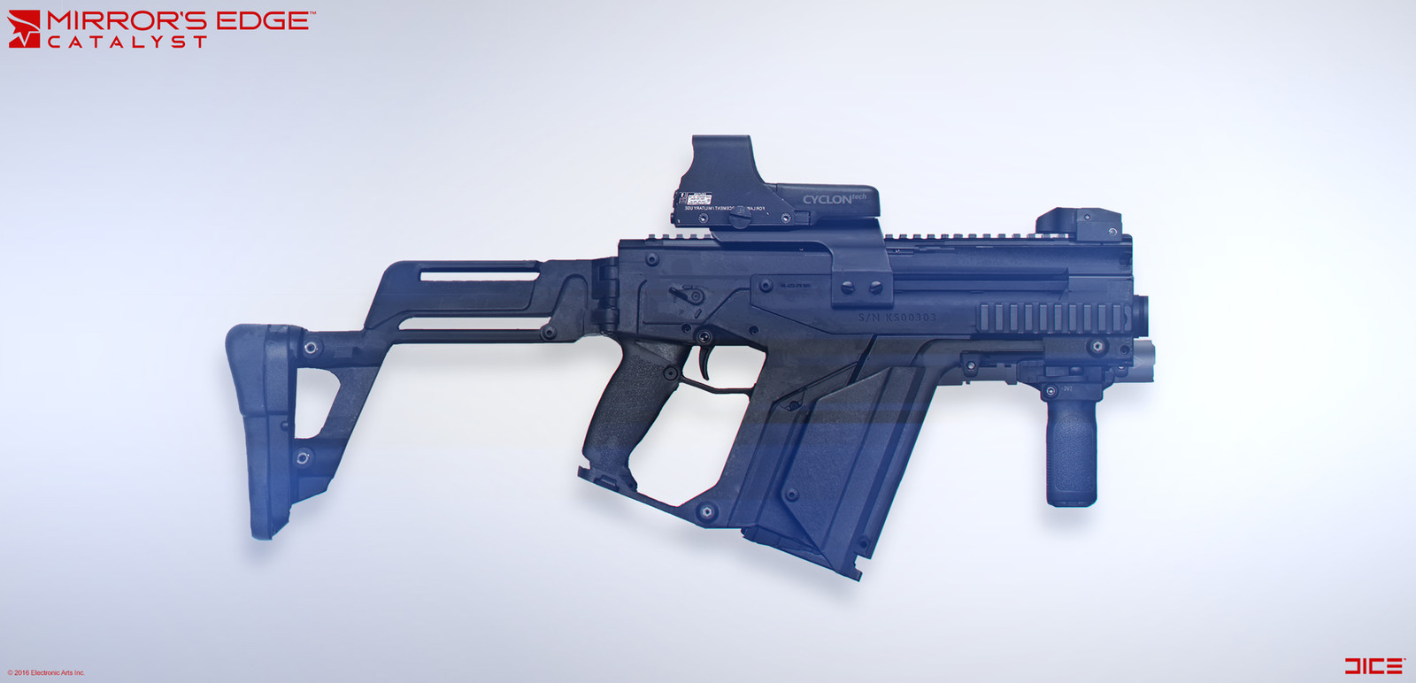 KSEC KT-11 Rifle - Concept Art