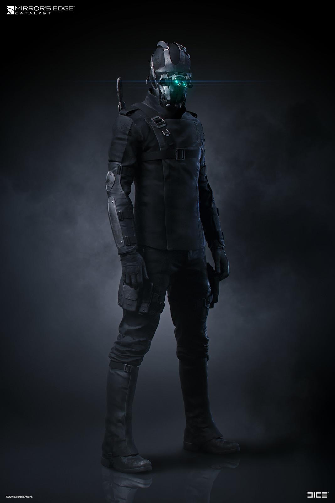 Agent of Omnistat - Concept Art