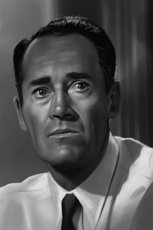 Henry Fonda Study