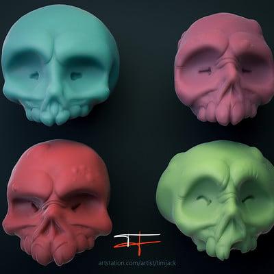 Tim jacksteit skulls render 01