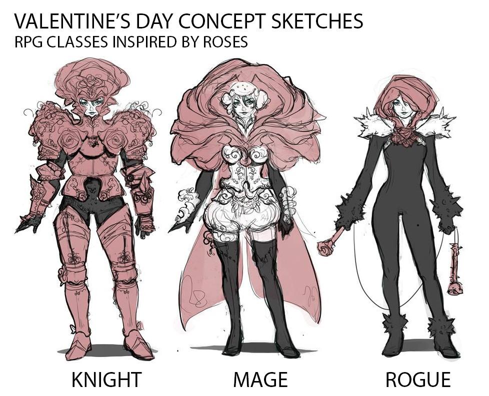 Stef tastan stef tastan characterdesign valentinesdayrpg