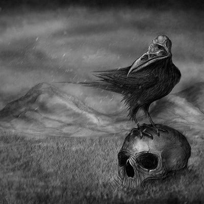 Ruslan kadiev the bird of destruction by ruslankadiev da646i0