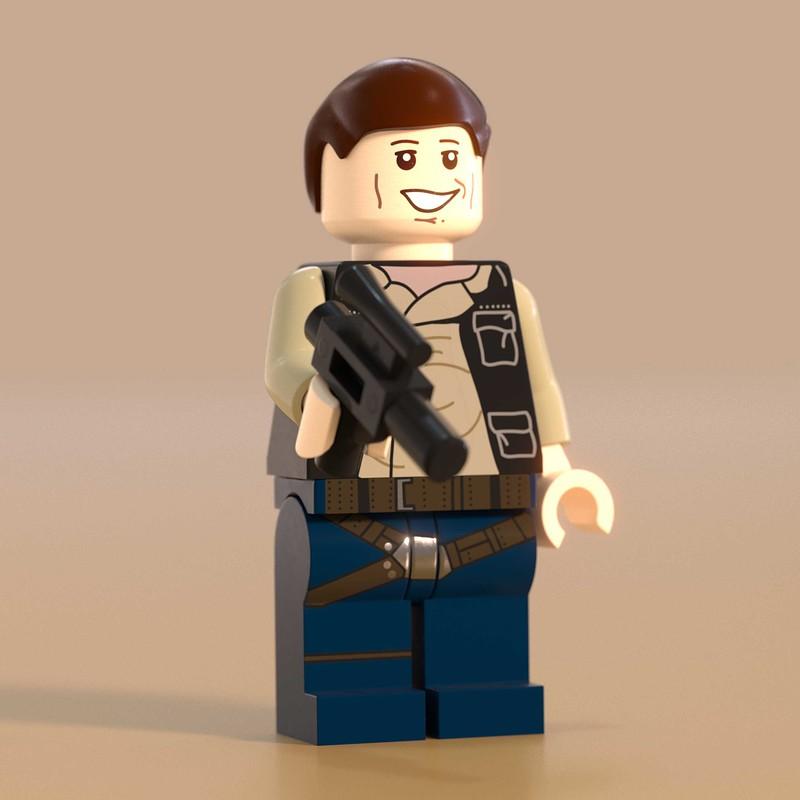 Han Solo Lego Minifig
