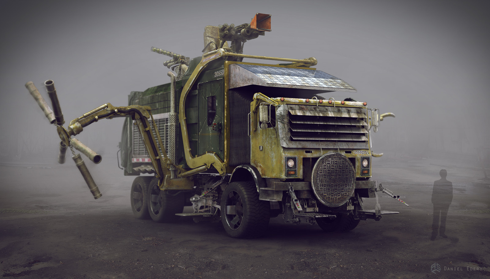 Turtle Truck Front