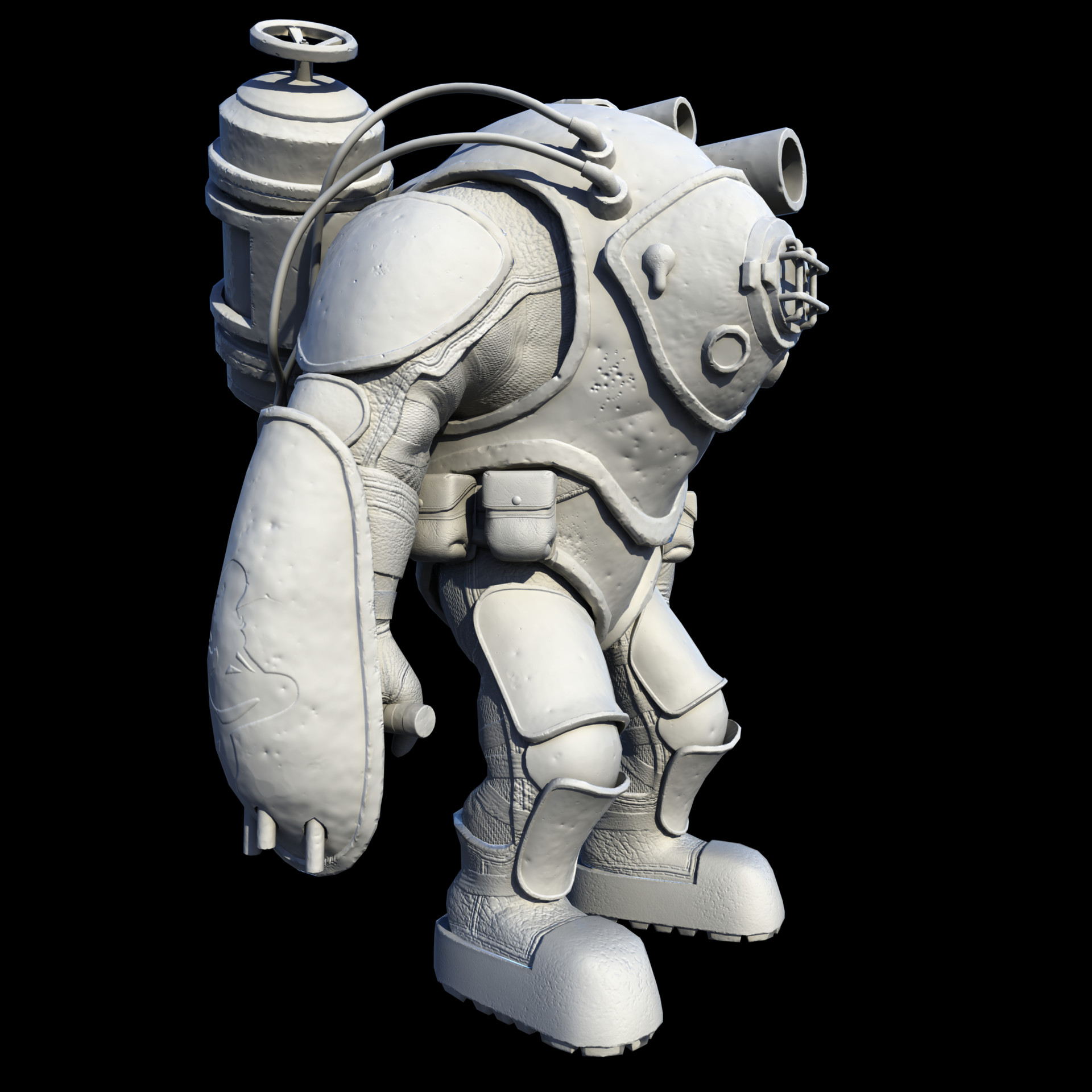 Jonah Roesler Demo Daddy Character Model