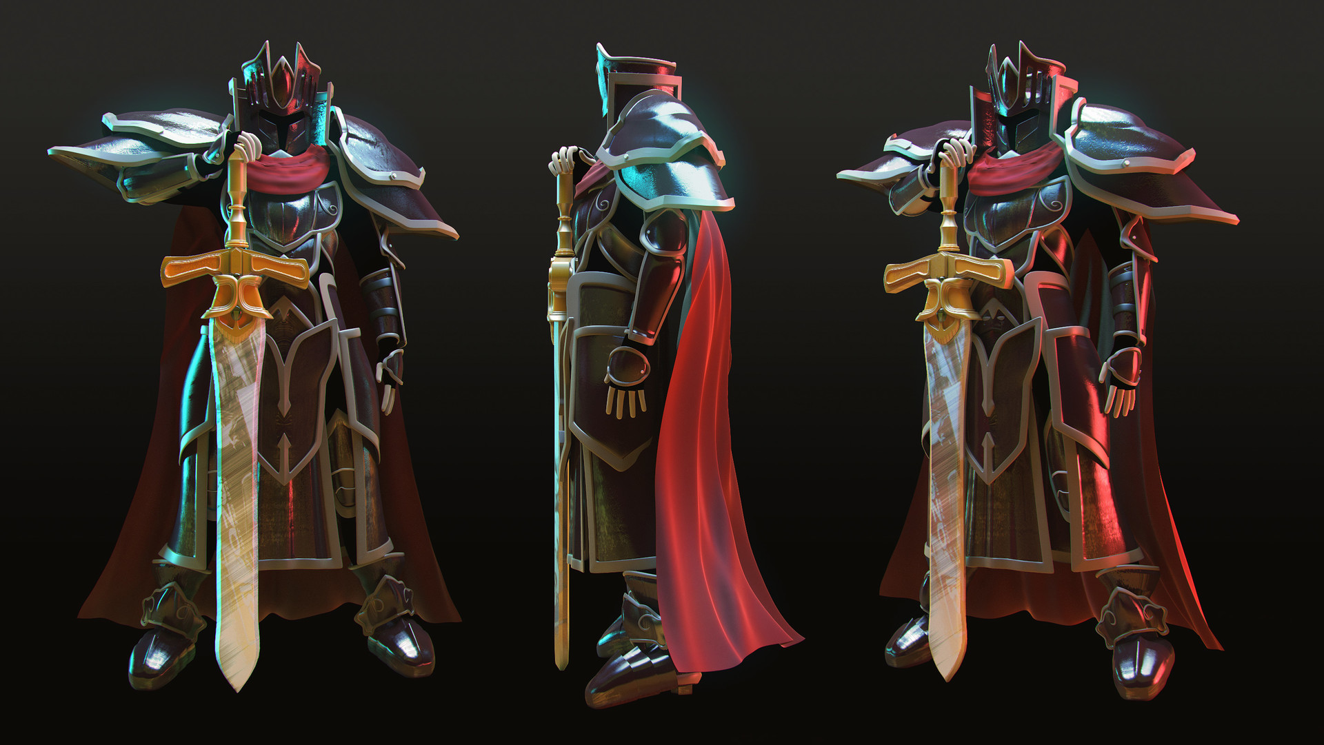 Artstation The Black Knight From Fire Emblem Path Of Radiance