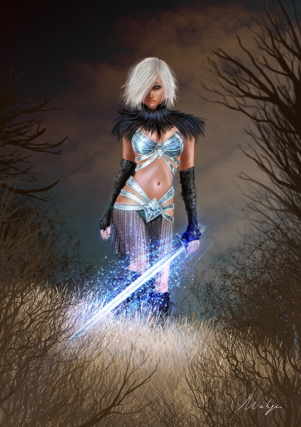 Audrey lopez magic warrior 72
