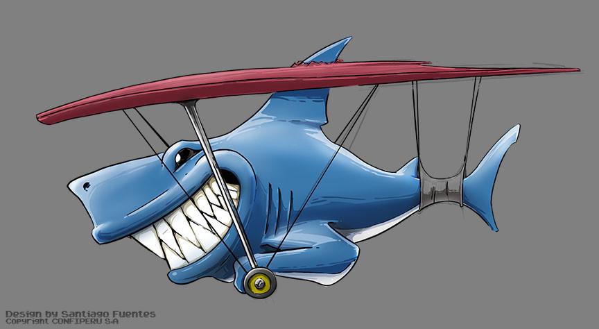 Santiago fuentes happy shark