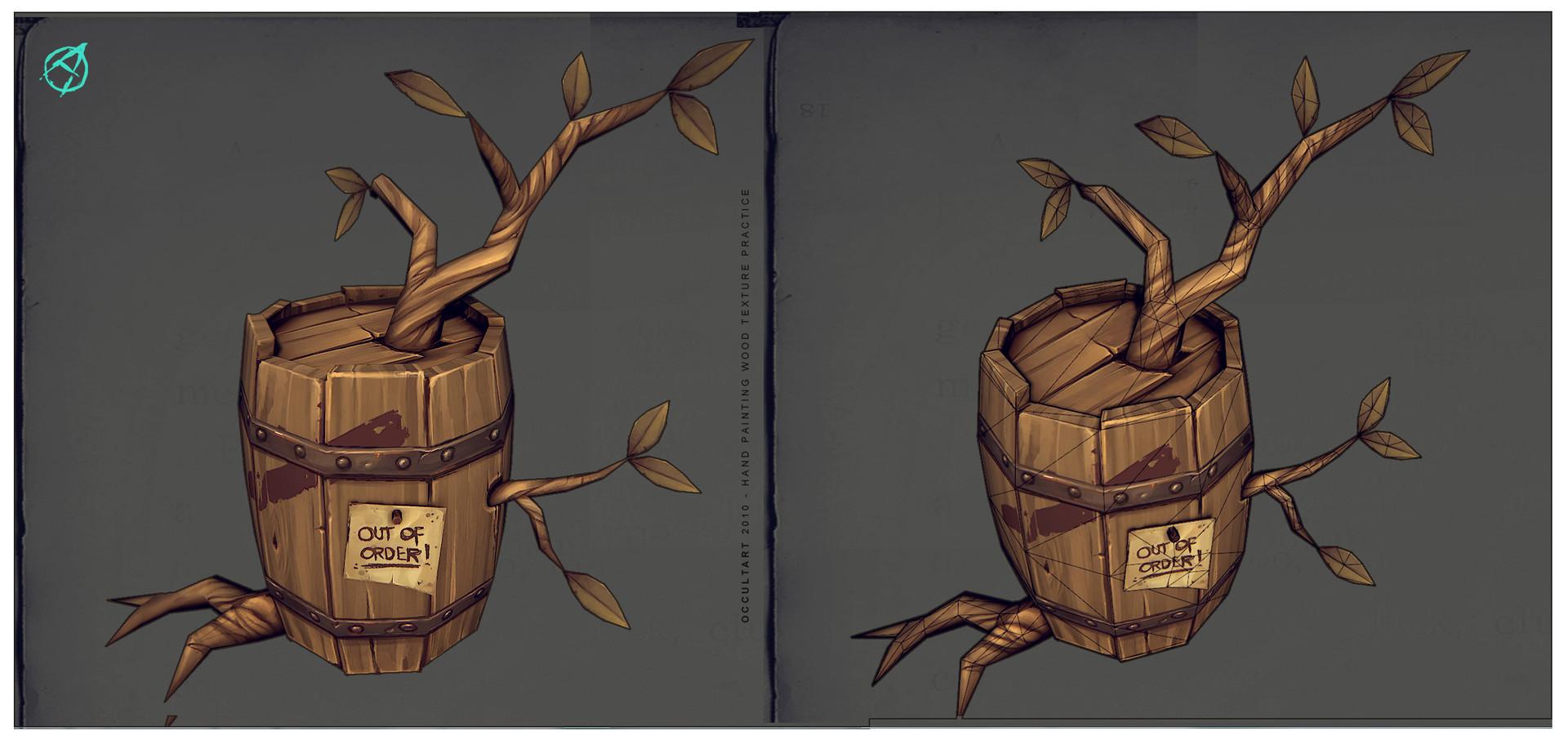 Occultart   treebarreltest 002