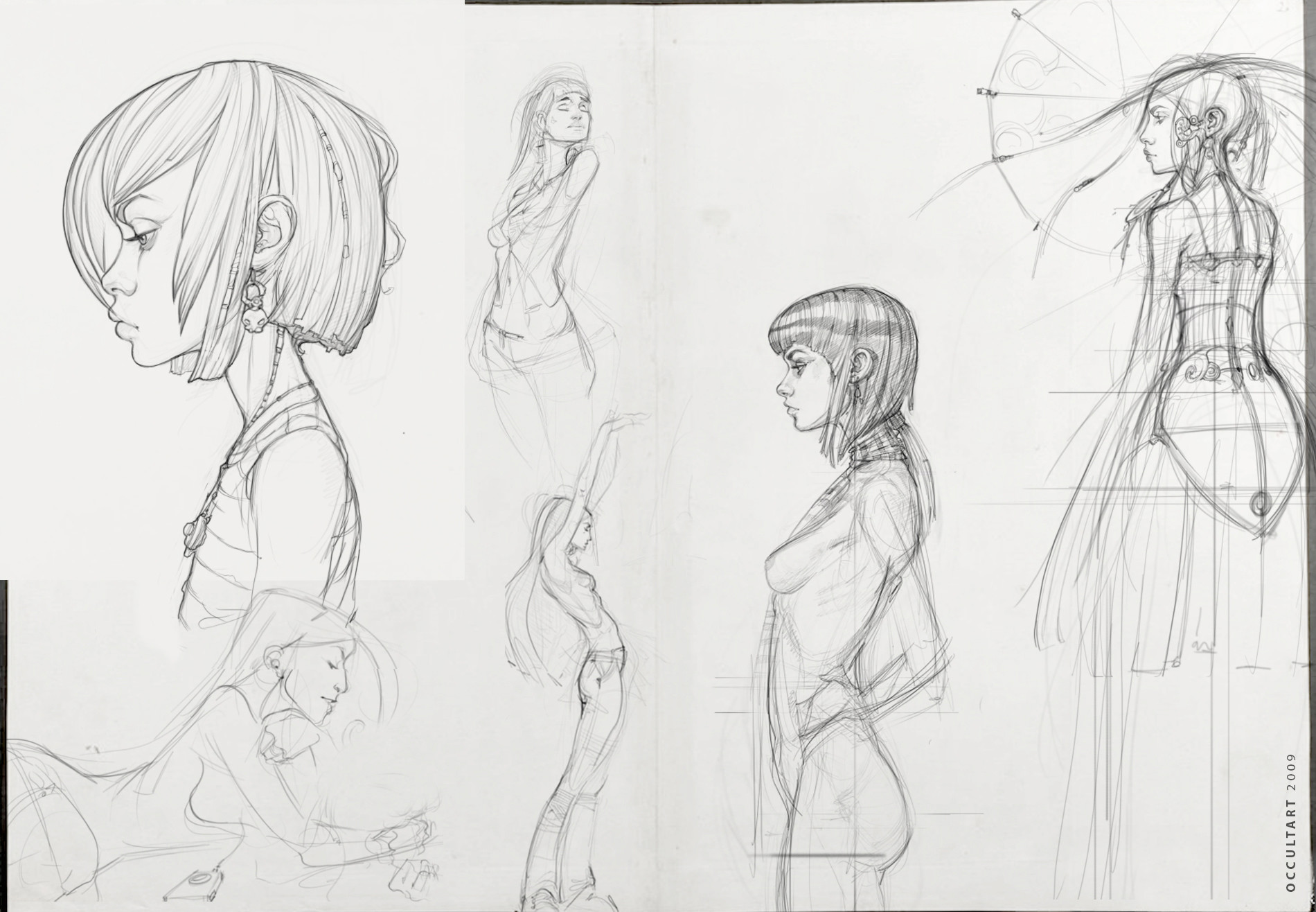 Occultart   girlsketches 022
