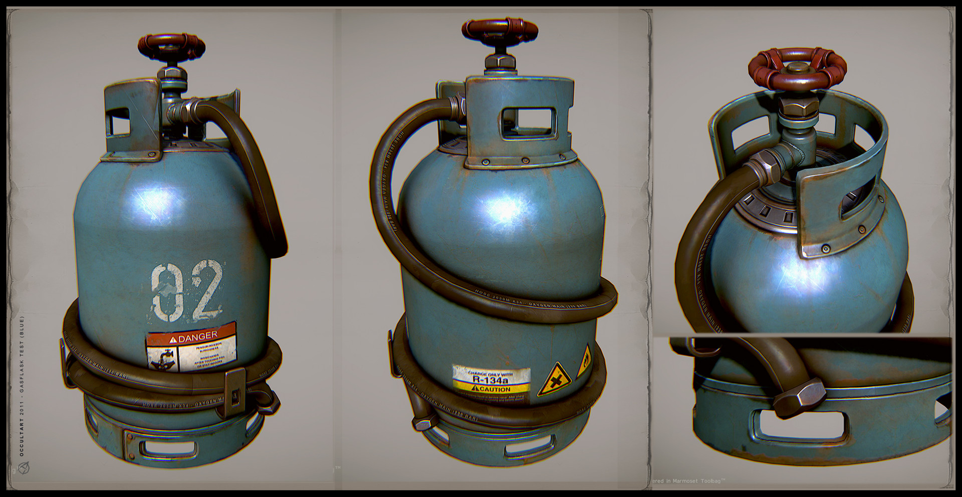 Occultart   gasflask blue 01