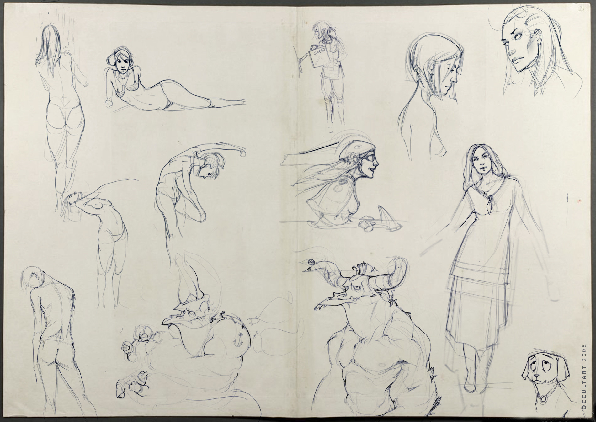 Occultart   sketches 04