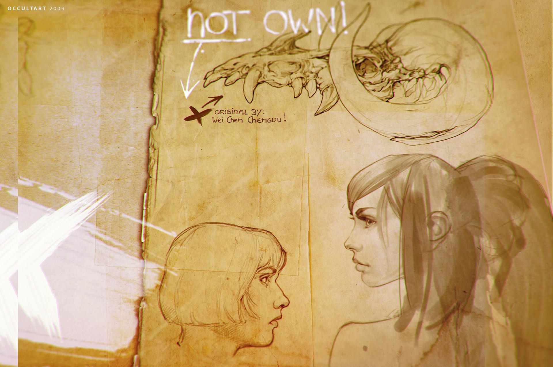 Occultart   sketch 009