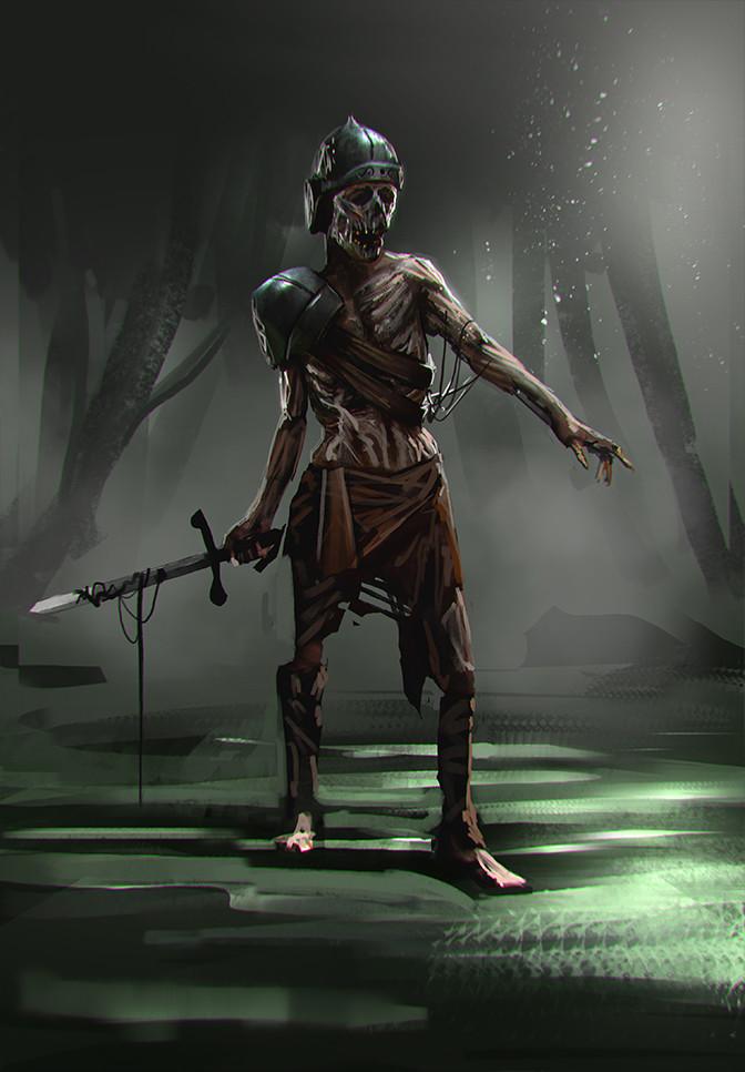 Adrian retana soldier zombie