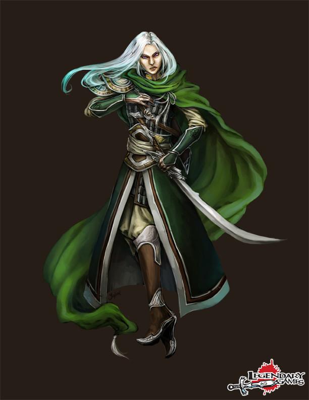 Tessara Artinesse, elf synthesist summoner