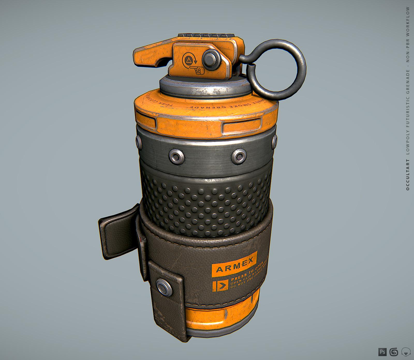 Grenade NON-PBR (OLD)
