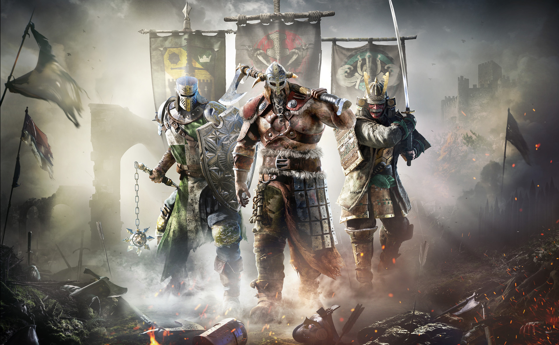 Wil wells for honor keyart wil wells ubisoft