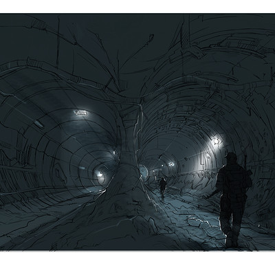 Kishore ghosh concept drawing