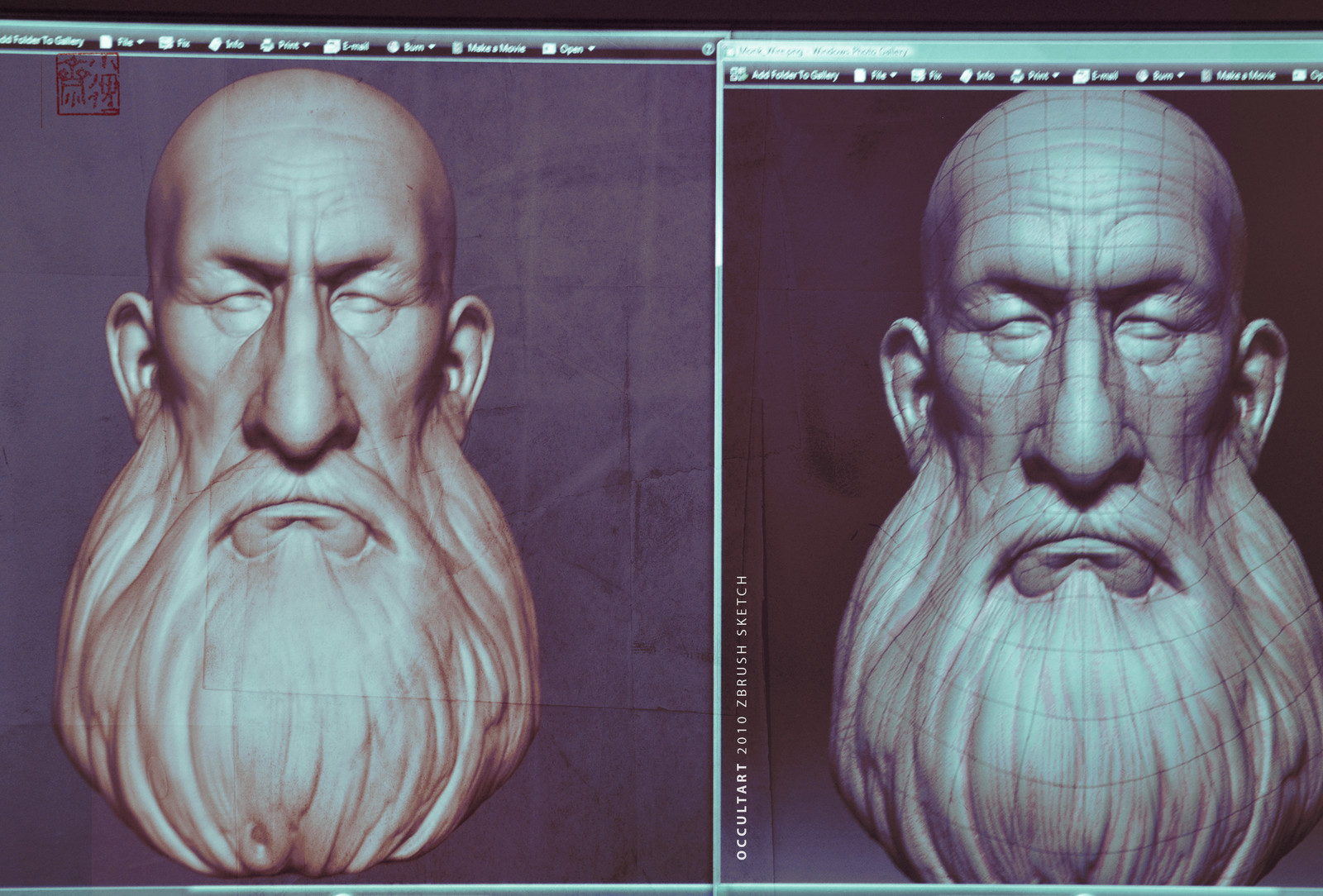 OLD Zbrush Sketches
