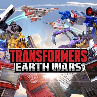 Space ape games transformers earth wars loading screen