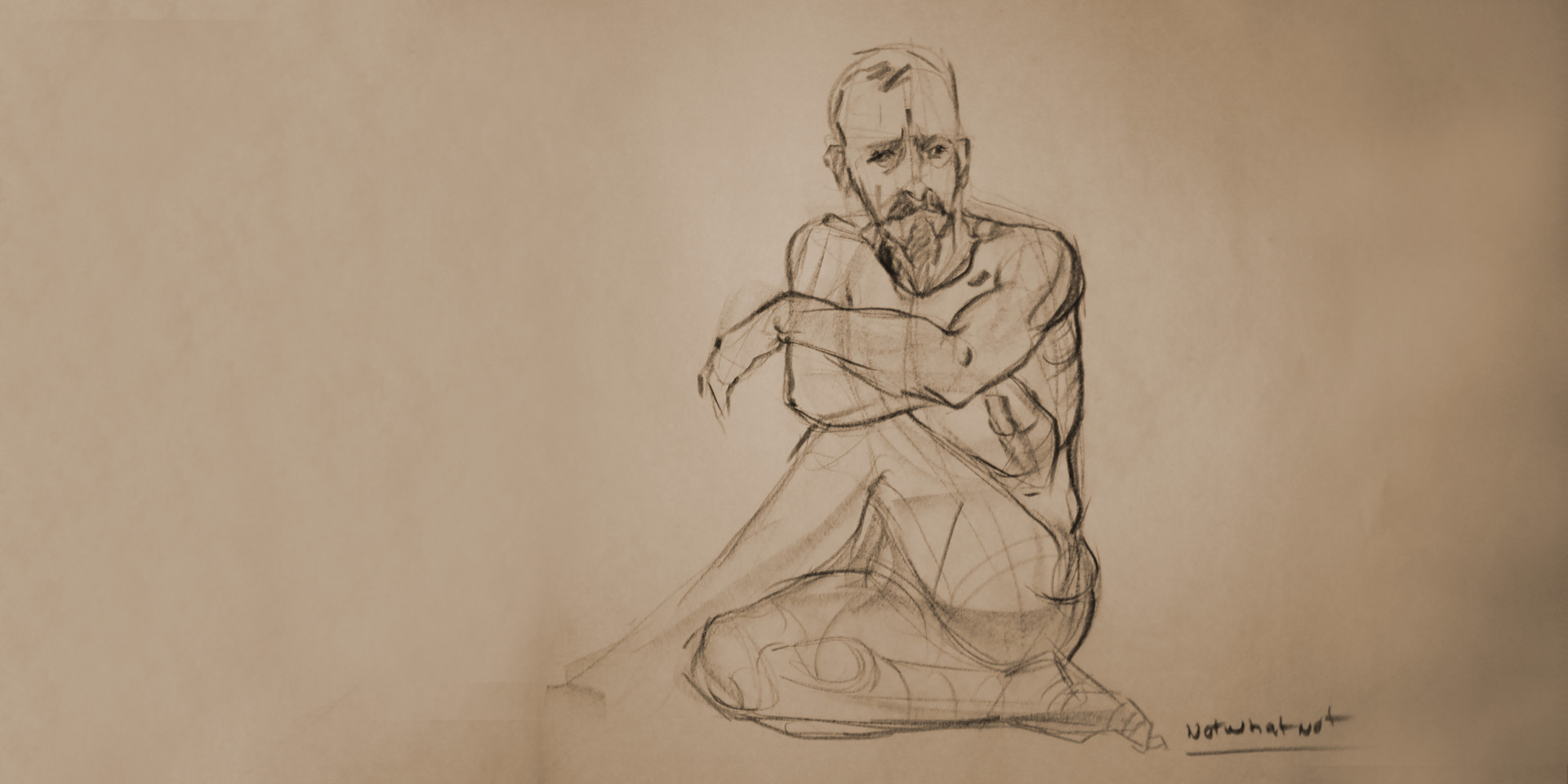 Life drawing, 5 min, 2015