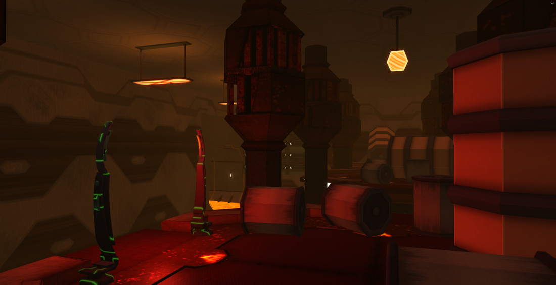 Screenshot of the Foundry's upper area.